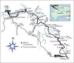 yukon quest map